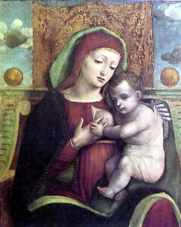 Bernardino Fasolo, Madonna col Bambino