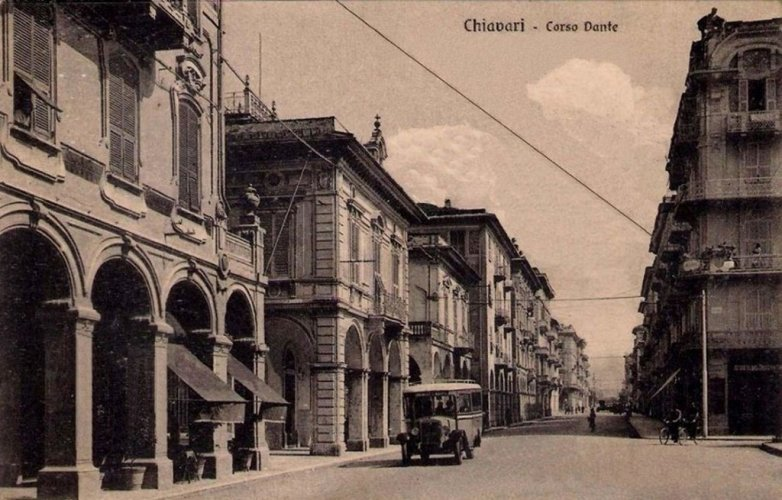 Chiavari, 1938: Corso Dante
