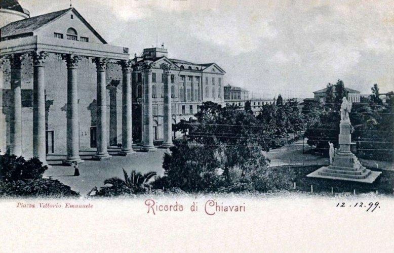 Chiavari, 1900: Piazza Vittorio Emanuele