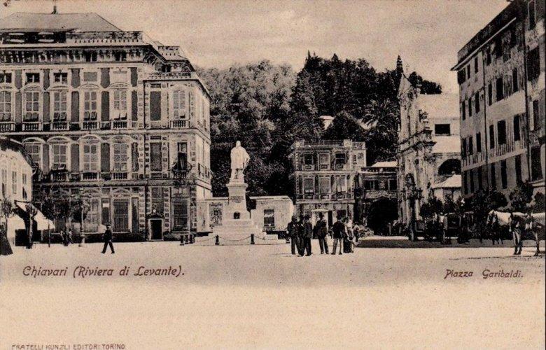 Chiavari, 1902: Piazza Garibaldi